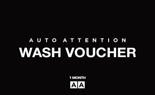 Auto Attention Voucher 1 Month Wash
