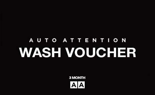 Auto Attention Voucher 3 Month Wash