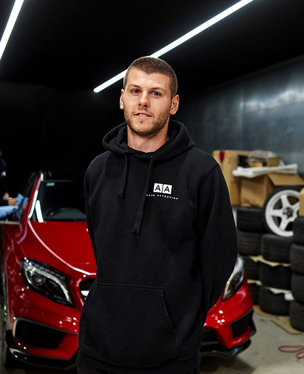 Max Strangis Head of Car Wash Services